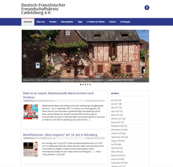 Deutsch-Französischer Freundschaftskreis Cadolzburg e.V.